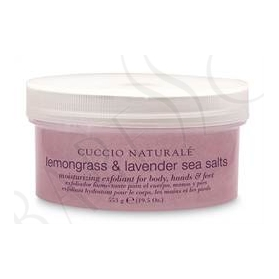 Cuccio Naturalé Sea Salt Grovkornig Lemongrass & Lavender
