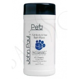 John Paul Pet Full Body & Paw Wipes 45st