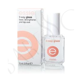 Essie 3 Way Glaze Base, Strengthener and Top Coat 15ml
