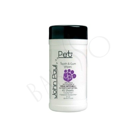 John Paul Pet Pet Tooth & Gum Wipes 45st