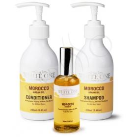 The White One Morocco Argan Oil Kit