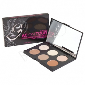 AUSTRALIS AC On Tour Contouring & Highlighting Kit - Light