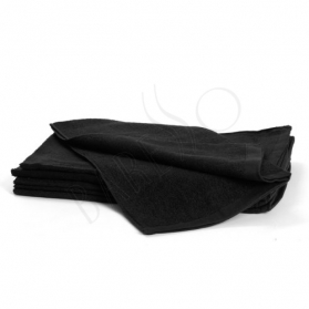 Bleachsafe towel black L 12st