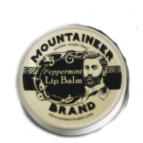 Mountaineer Brand - Läppbalsam Peppermint 15g