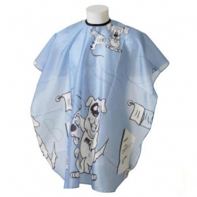 "Child cape ""doggy blue"""