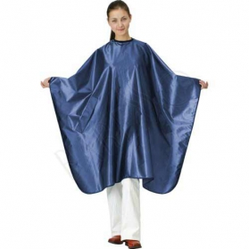 Satin cape. royal blue