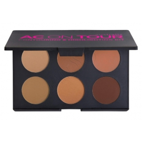 AUSTRALIS AC On Tour Contouring & Highlighting Kit - Dark