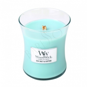 WoodWick Sea Salt & Cotton Doftljus