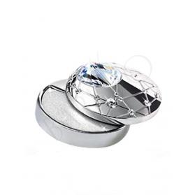 Aura By Swarovski Bijou De Maquillage Crystal Touch Argent Scintillant