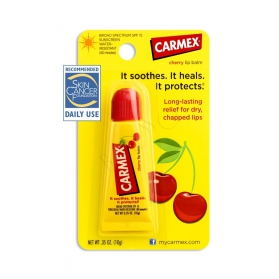 Carmex lip balm tube cherry SPF 15