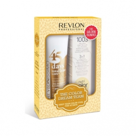 Revlon Color Dream 45 Days Golden Blondes + Nutri Color Creme 1003