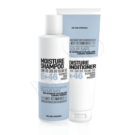 E+46 Moisture Shampoo 300ml + Conditioner 250ml