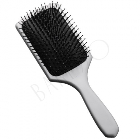Paddle brush. silver