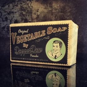 Dapper Dan Vegetable Soap Bar 190g