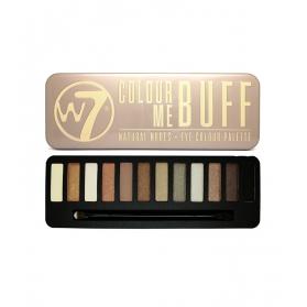 W7 - In The Buff Eye Palette - 12 Shades