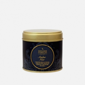 Shearer Candle In Tin Amber Noir