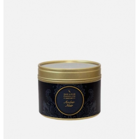 Shearer Candles Small Candle Tin Amber Noir 20h