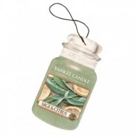 Yankee Candle Car Jar Sage & Citrus