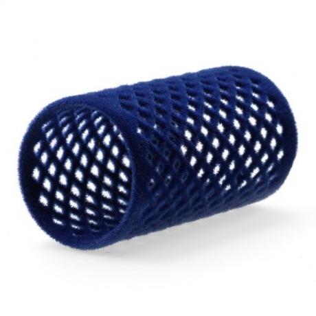 Flock curler blue 36 mm