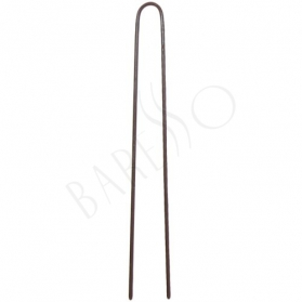 Postich pin 323. brown. 55 mm