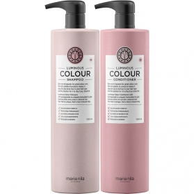 Maria Nila Palett Luminous Color Shampoo + Conditioner 1000ml