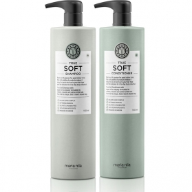Maria Nila True Soft Shampoo + Conditioner 1000ml