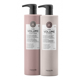 Maria Nila Pure Volume Shampoo + Conditioner 1000ml
