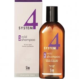 Sim Sensitive System 4 Mild Shampoo 3 215ml