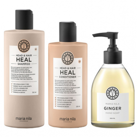 Maria Nila Heal + Ginger Holiday Box