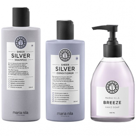 Maria Nila Silver + Breeze Holiday Box