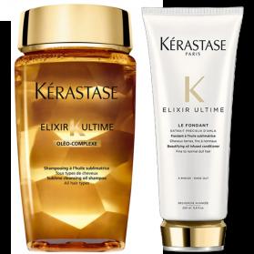 Kerastase Elixir Ultime shampoo 250ml+Kerastase Elixir Ultimate Oil Cream 150ml
