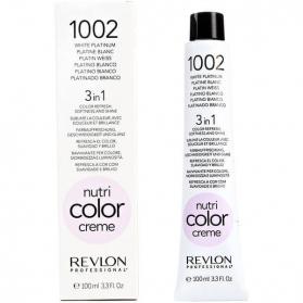 Revlon Professional Nutri Color Creme 1002 White Platinum Tube 100ml