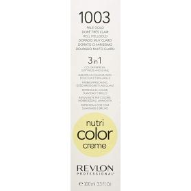 Revlon Professional Nutri Color Creme 1003 Pale Gold Tube 100ml