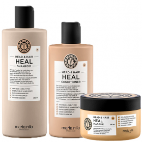 Maria Nila Head & Hair Heal Shampoo 350ml + Conditioner 300ml + Masque 250ml