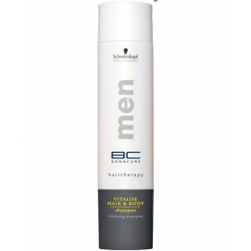 Schwarzkopf Bonacure Hairtherapy Men Vitalise Hair and Body Shampoo 250ml