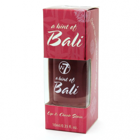 W7 Lip & Cheek Stain - A Hint Of Bali 10ml