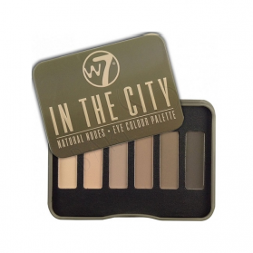 W7 - In The City Eye Palette - 6 Shades