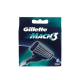 Gillette Mach3 4-pack rakblad