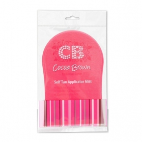Cocoa Brown | Pink Tanning Mitt