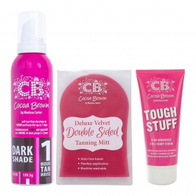 Cocoa Brown 1-Hour Tan Dark shade Kit