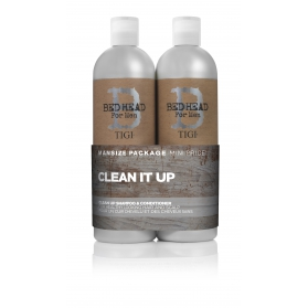 TIGI Tweens For Men clean Up. 2x750ml Scandi