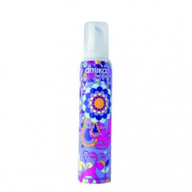 Amika Bust Your Brass Violet Leave-In Treatment Foam 156ml