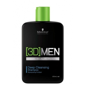 Schwarzkopf 3D Men Deep Clean Shampoo 250ml