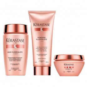 Kérastase Discipline Bain Fluidealiste Trio Shampoo + Condtioner + Maskeratine