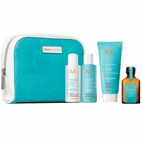 Moroccanoil Smooth & Sleek travel kit