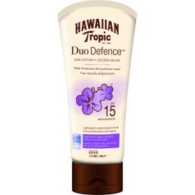 Hawaiian DuoDefence Sun Lotion SPF 15 180ml