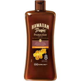 Hawaiian Protective Oil SPF 8 Coconut & Papaya 100ml