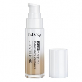 IsaDora Skin Beauty Perfecting & Protecting Foundation SPF 35 07 Medium Buff