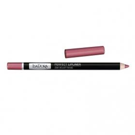 IsaDora Perfect Lipliner 206 Velvet Rose