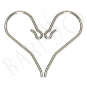Blomdahl Natural Titanium Safety Ear Hook